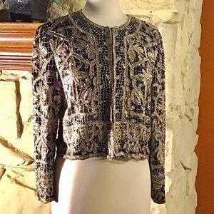 Laurence Kazan embellished jacket